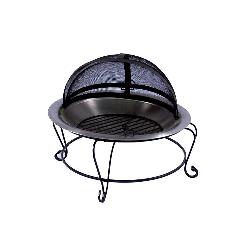 chimenea portatil de exterior grill academy